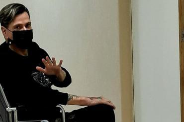Roberto Piazza fue internado en terapia intensiva en la Clínica Trinidad
