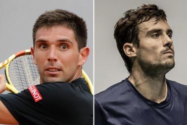 Luces y sombras para los argentinos en el Masters 1000 de Montecarlo: ganó Delbonis y perdió Pella