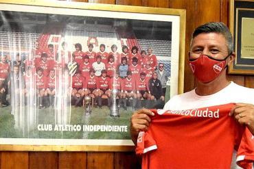 Nuevo caso de coronavirus en Independiente: Pedro Monzón dio positivo en el test rápido