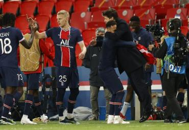 Champions League: al Bayern Munich no le alcanzó la victoria y el PSG avanzó a las semifinales