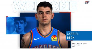 La emotiva carta de Gabriel Deck tras su paso al Oklahoma City Thunder: