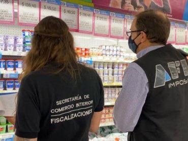 Inspectores de la AFIP controlarán el cumplimiento de los Precios Máximos en supermercados