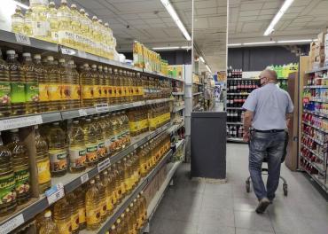 La inflación fue del 4,8% en marzo y alcanzó el 42,6% en el último año