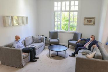 Alberto Fernández y Rodríguez Larreta se reunieron por dos horas en la Quinta de Olivos