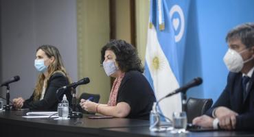 Vizzotti sobre la situación de Argentina con la pandemia: