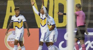Copa Libertadores: con un golazo de Villa, Boca venció a The Strongest en la altura de La Paz