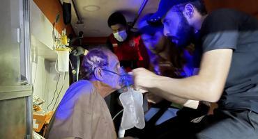 Más de 80 muertos y más de 100 heridos tras violenta explosión y voraz incendio en hospital de Irak