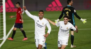 Real Madrid ganó y quedó a dos puntos del Atlético de Madrid
