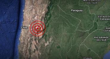 Fuerte sismo en Chile: temblaron las provincias argentinas de Mendoza, San Juan, La Rioja, Tucumán y Córdoba