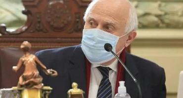 Coronavirus: Miguel Lifschitz sigue internado y presentó una