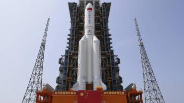 Cayó el cohete chino que estaba fuera de control en el Océano Índico