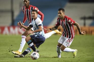Copa Libertadores: Racing y San Pablo no se sacaron ventajas en un duelo que pudo ser para cualquiera