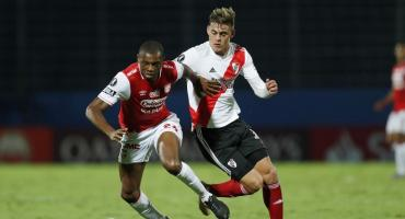 Con un equipo alternativo, River igualó ante Independiente Santa Fe 0-0