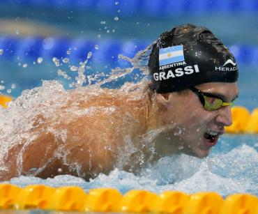 """Argentina en Tokio 2020: Santiago Grassi, de la """"NBA de la natación"""" a los Juegos Olímpicos sin escalas"""
