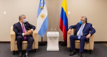 """Rechazo de Colombia a dichos de Alberto Fernández sobre las manifestaciones: """"Una intromisión que alimenta la polarización"""""""
