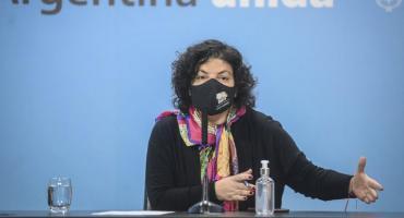 Vizzotti viaja a México y Cuba para controlar la liberación de vacunas hacia Argentina