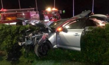 VIDEO de tragedia en Tigre: dos jóvenes muertos tras violento accidente por culpa de conductor alcoholizado
