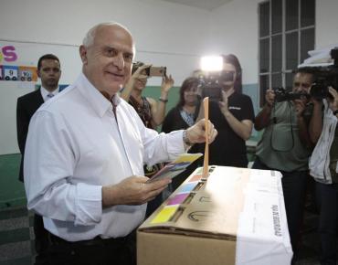 Cristina Kirchner, Alberto Fernández y Horacio Rodríguez Larreta despidieron a Miguel Lifschitz