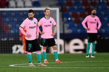 El gol de Messi no alcanzó: Barcelona igualó con Levante y dejó escapar una nueva chance en LaLiga