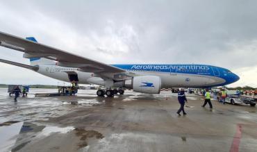 Llegó a Moscú el vuelo para trasladar a Argentina más dosis de vacunas Sputnik V contra coronavirus