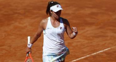 Histórico batacazo de Nadia Podoroska: le ganó a Serena Williams en el Masters 1000 de Roma