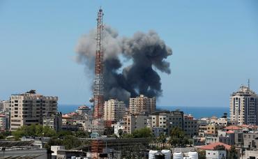 Zona de guerra: la Franja de Gaza es la zona más dañada por los bombardeos de Israel