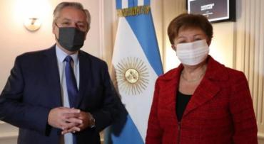 Kristalina Georgieva tras reunirse con Alberto Fernández: