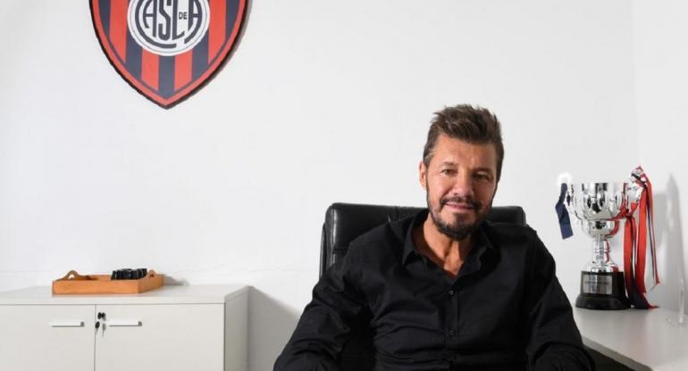 Marcelo Tinelli pidió una licencia a su cargo como presidente de San Lorenzo
