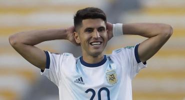 Malas noticias para Scaloni: Exequiel Palacios se lesionó y se perderá la Copa América