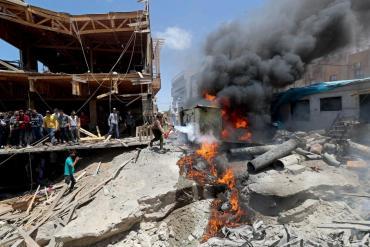 Israel violó el alto el fuego con Hamas al bombardear la Franja de Gaza desatando una masacre
