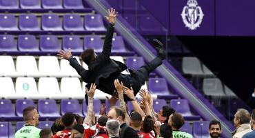 Simeone tras el campeonato del Atlético: