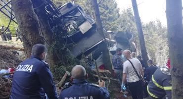 Tragedia en Italia: cayó un teleférico, hubo al menos 14 muertos y un niño herido de gravedad