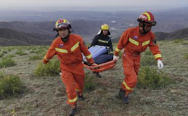 Ola de frío y lluvias con granizo provocaron más de 20 muertos en maratón de montaña en China