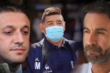 Muerte de Diego Maradona: reconstruyen el celular de Luque con más de 50 audios y centenares de chats