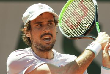 Buen debut de Guido Pella en ronda inicial de Roland Garros: venció al colombiano Galán en tres sets