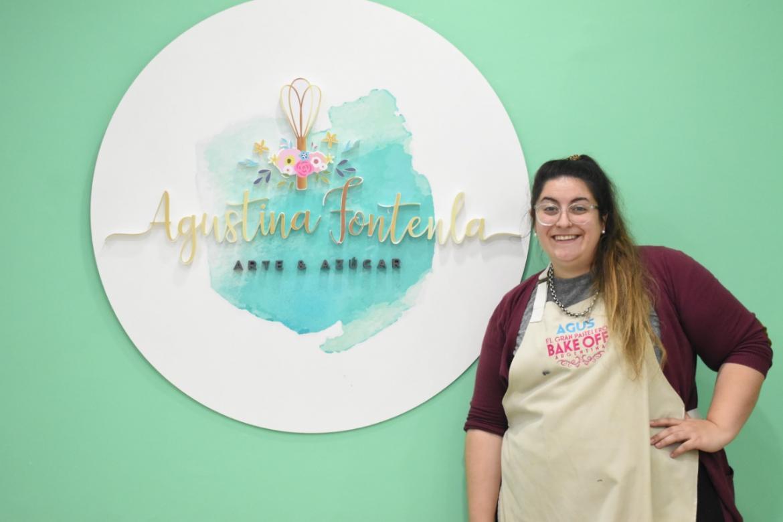 Agustina Fontenla, Bake Off Argentina, Pastelera