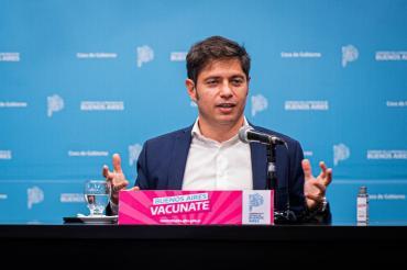 Coronavirus: Kicillof destacó una baja de contagios, pero dijo que