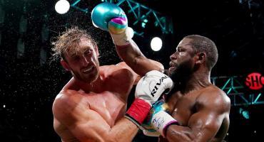Floyd Mayweather y Logan Paul dieron una decepcionante exhibición de boxeo