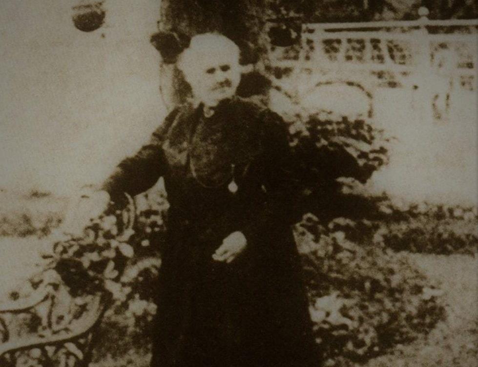 Malvina Vernet, hija de Luis Vernet nacida en Malvinas