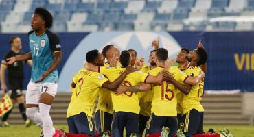 Copa América: un golazo de Edwin Cardona le dio el triunfo a Colombia ante Ecuador