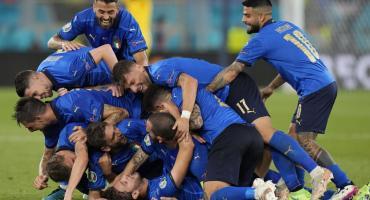 Italia goleó a Suiza y aseguró su boleto a los octavos de final de la Eurocopa