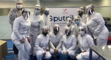 Sputnik V: arribaron 500 litros del segundo componente para producir las dosis en el país