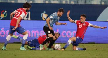 Gracias a Luis Suárez, Uruguay rescató un empate ante Chile por Copa América pero sigue sin convencer