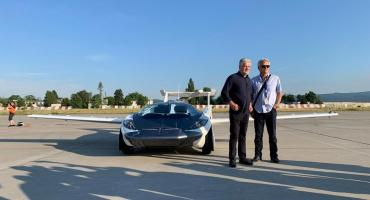 El futuro ya llegó: así es el auto volador que saldría a la venta en 2023