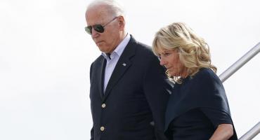 Encuentro de Joe Biden con rescatistas y víctimas del trágico derrumbe de edificio en Miami
