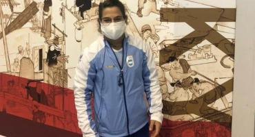 Paula Pareto, la primera deportista argentina en llegar a Tokio para los Juegos Olímpicos