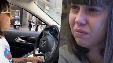 Le donaron 170 mil dólares porque la echaron de su casa pero se compró un Mercedes Benz