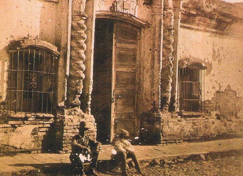 Casita de Tucumán, foto mitad de siglo XIX