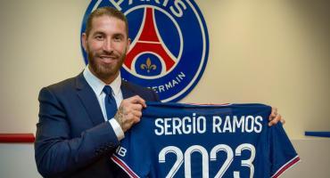 El PSG oficializó la llegada de Sergio Ramos y será compañero de Neymar y Mbappé