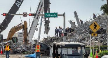 Caen sospechosos de haber robado identidad a cinco víctimas del derrumbe en Miami